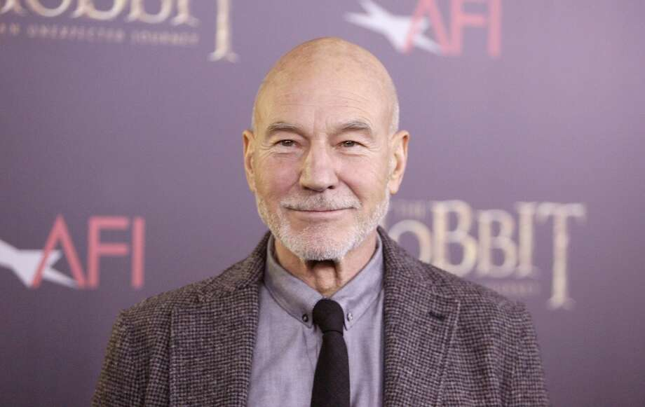 Patrick Stewart in December of 2012. Pretty much looks the same, doesn't he?