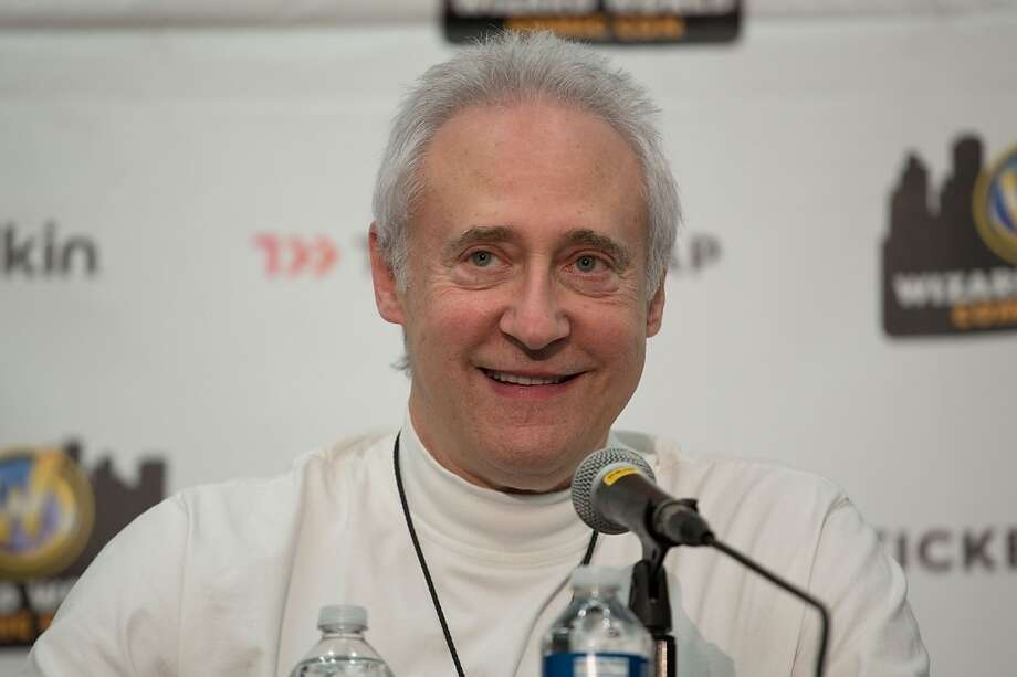 Brent Spiner at the Wizard World Austin Comic Con in 2012, speaking about the 25th anniversary of ''Star Trek: The Next Generation.''