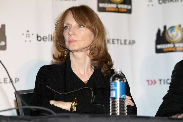Here's Gates McFadden at the Austin Comic Con in 2012, talking about TNG's 25th anniversary.