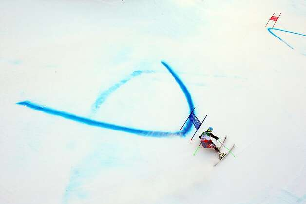 Ted Ligety of the United States of America skis in the Men's Giant Slalom during the Alpine FIS Ski World Championships on February 15, 2013 in Schladming, Austria.  Photo: Alexander Hassenstein, Getty Images