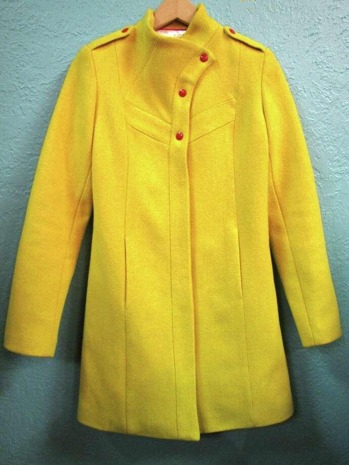 Lauren Moffatt Slyvia coat, $514, Posh, Beaumont