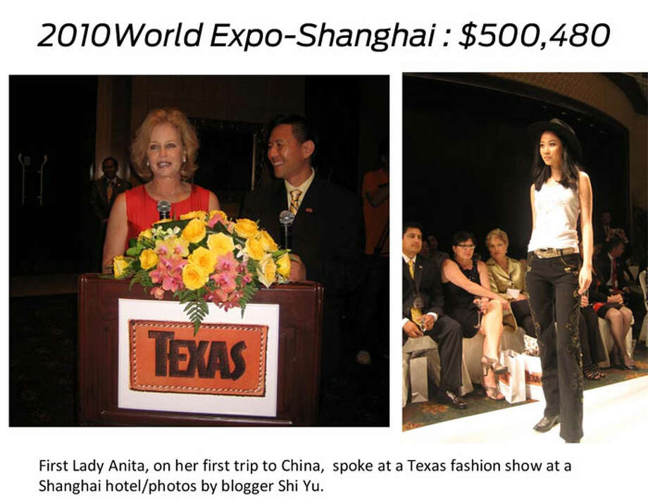 Topdonors to Gov. Rick Perry'seconomic development nonprofit TexasOne  can win invitations to travel the world with Gov. Perry, the first lady,  the secretary of state and other dignitaries to tout Texas and help  close deals for the state. Here's a free look at the most expensive  destinations based on a Houston Chronicle analysis of TexasOne expenses  from Sept. 2009 to Jan. 2013.