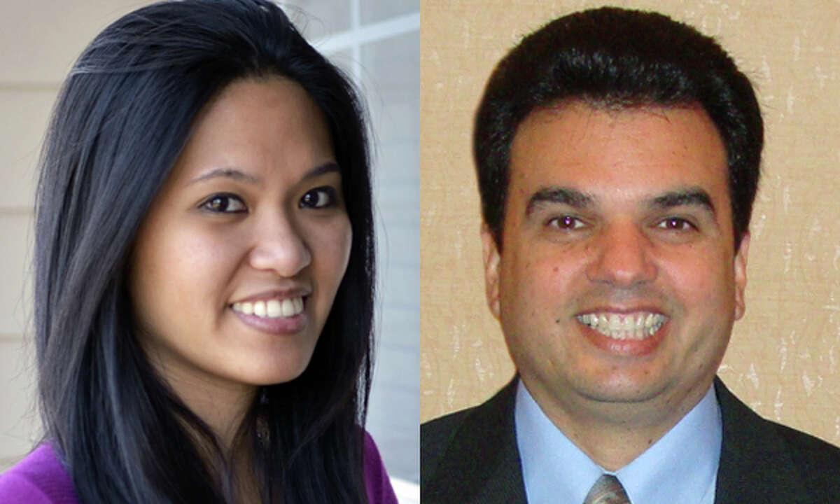 2012 Salute to Nurses Winners Maria Theresa Uy and Antonio Garcia