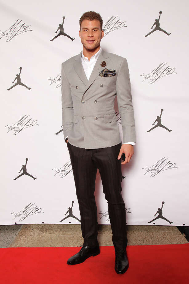 IMAGE DISTRIBUTED FOR JORDAN BRAND - Jordan Brand athlete, Blake Griffin, is seen at the Jordan Brand party celebrating Michael Jordan's birthday on Friday, February 15, 2013 in Houston, TX.  The Jordan Brand launched its Air Jordan XX8 in Houston on the same day.  (Photo by Omar Vega/Invision for Jordan Brand/AP Images) Photo: Omar Vega, Associated Press / Invision