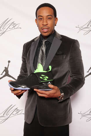 IMAGE DISTRIBUTED FOR JORDAN BRAND - Ludacris is seen at the Jordan Brand party celebrating Michael Jordan's birthday on Friday, February 15, 2013 in Houston, TX.  The Jordan Brand launched its Air Jordan XX8 in Houston on the same day.  (Photo by Omar Vega/Invision for Jordan Brand/AP Images) Photo: Omar Vega, Associated Press / Invision
