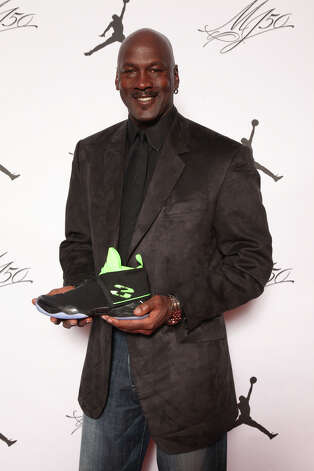 IMAGE DISTRIBUTED FOR JORDAN BRAND - Michael Jordan is seen at the Jordan Brand party celebrating his birthday on Friday, February 15, 2013 in Houston, TX.  The Jordan Brand launched its Air Jordan XX8 in Houston on the same day.  (Photo by Omar Vega/Invision for Jordan Brand/AP Images) Photo: Omar Vega, Associated Press / Invision