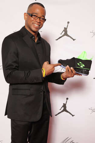 IMAGE DISTRIBUTED FOR JORDAN BRAND - Stuart Scott is seen at the Jordan Brand party celebrating Michael Jordan's birthday on Friday, February 15, 2013 in Houston, TX.  The Jordan Brand launched its Air Jordan XX8 in Houston on the same day.  (Photo by Omar Vega/Invision for Jordan Brand/AP Images) Photo: Omar Vega, Associated Press / Invision