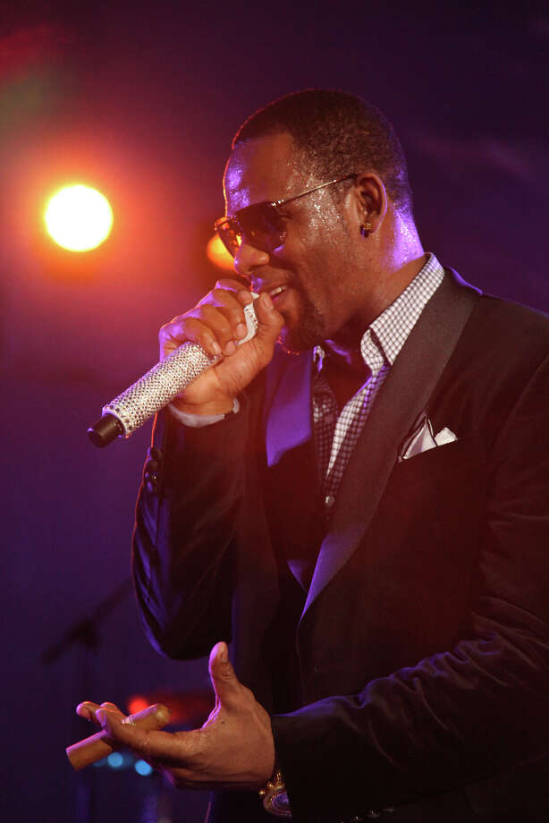 IMAGE DISTRIBUTED FOR JORDAN BRAND - R.Kelly performs at the Jordan Brand party celebrating Michael Jordan's birthday on Friday, February 15, 2013 in Houston, TX.  The Jordan Brand launched its Air Jordan XX8 in Houston on the same day.  (Photo by Omar Vega/Invision for Jordan Brand/AP Images) Photo: Omar Vega, Associated Press / Invision