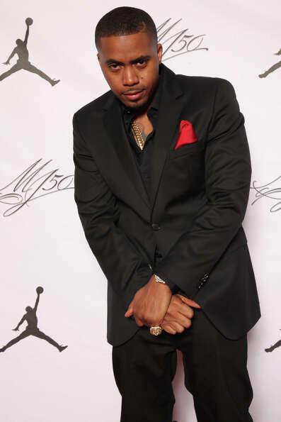 IMAGE DISTRIBUTED FOR JORDAN BRAND - Nas is seen at the Jordan Brand party celebrating Michael Jorda