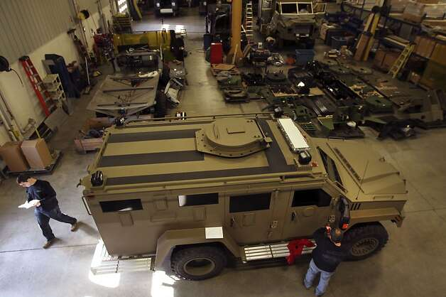 Marin's Sheriff's Department has been given the OK to buy a BearCat G3 van, similar to this Lenco armored SWAT truck. Photo: Boston Globe, Boston Globe Via Getty Images