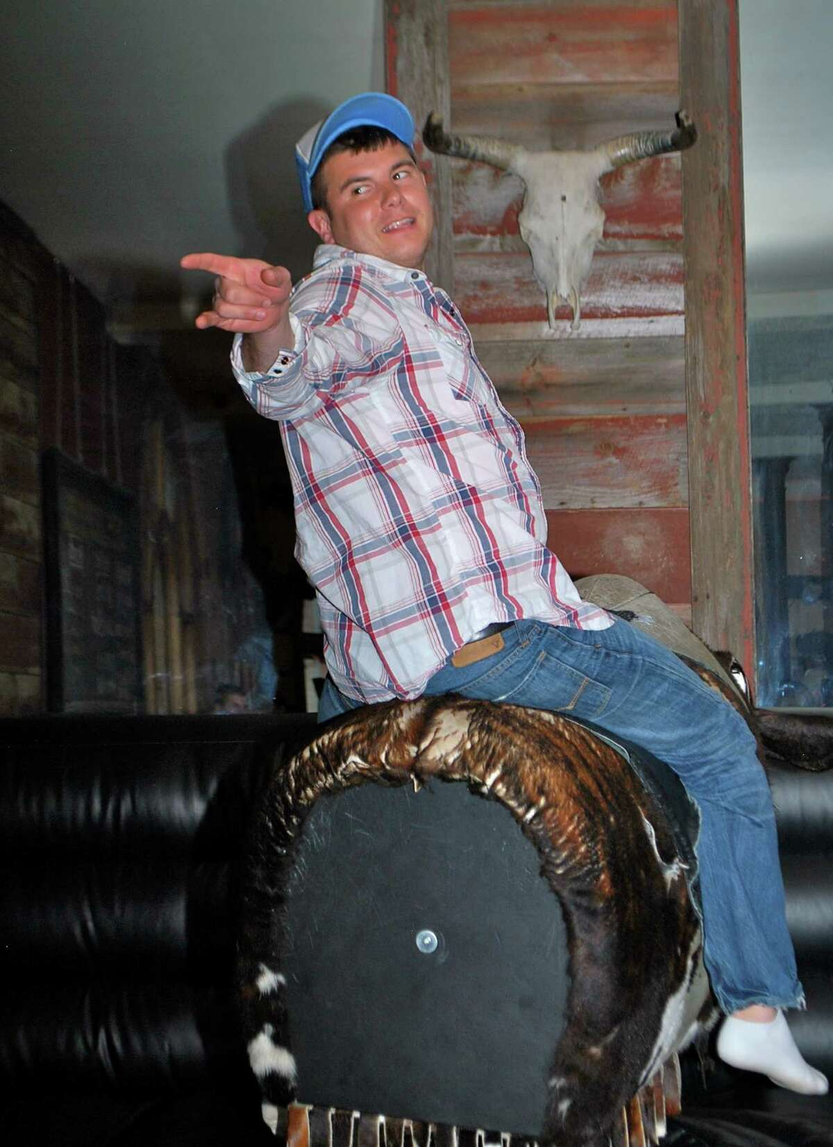Were you Seen at the inaugural Mechanical Bull Riding Competition to benefit The Boys and Girls Clubs of Albany at The City Beer Hall in Albany on Saturday, February 16, 2013?