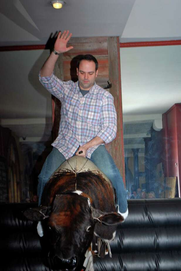 Were you Seen at the inaugural Mechanical Bull Riding Competition to benefit The Boys and Girls Clubs of Albany at The City Beer Hall in Albany on Saturday, February 16, 2013? Photo: Silvia Meder Lilly
