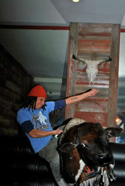 Were you Seen at the inaugural Mechanical Bull Riding Competition to benefit The Boys and Girls C