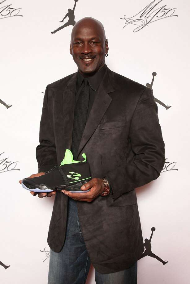 IMAGE DISTRIBUTED FOR JORDAN BRAND - Michael Jordan is seen at the Jordan Brand party celebrating his birthday on Friday, February 15, 2013 in Houston, TX.  The Jordan Brand launched its Air Jordan XX8 in Houston on the same day.  (Photo by Omar Vega/Invision for Jordan Brand/AP Images) Photo: Omar Vega, Associated Press