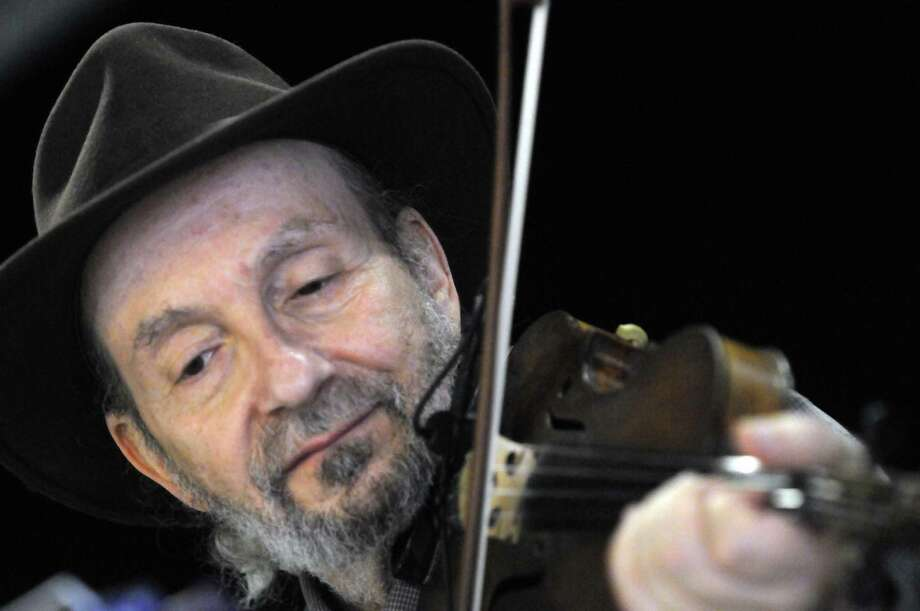 Fiddle player Jay Ungar performs during a Catskill mountain waltzes venue as part of Dance Flurry on Saturday Feb. 16, 2013 in Saratoga Springs, N.Y. .(Michael P. Farrell/Times Union) Photo: Michael P. Farrell