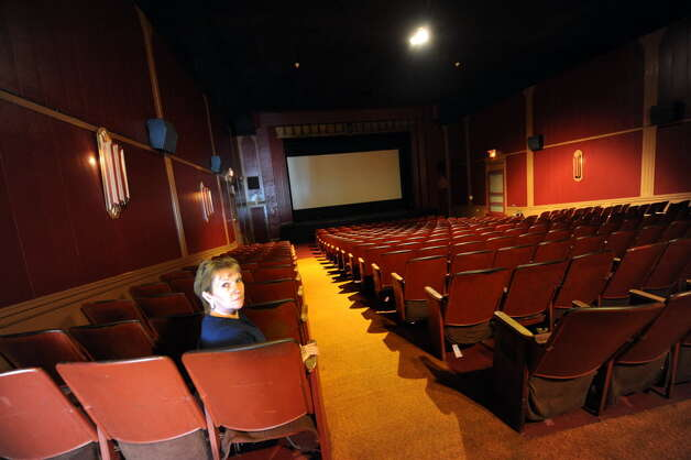 Nanci Hayes, owner of the Carol Theater in Chestertown, says the seasonal theater will not open this year, because she can not afford an upgrade to digital technology that would replace the cinema's old-fashioned film projector. (Photo by Michael P. Farrell / Times Union)