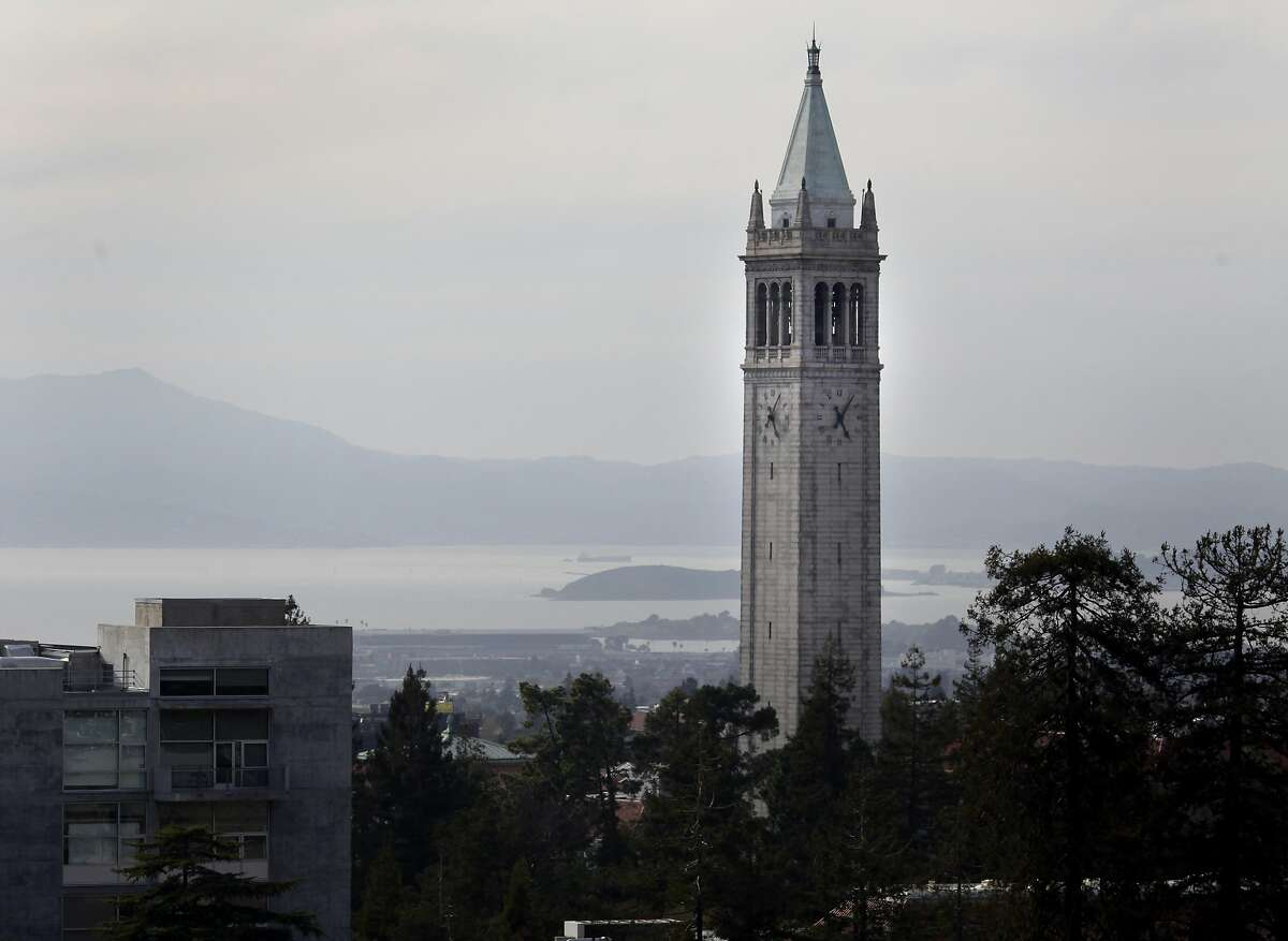 The Sather Tower or Campanile as viewed from Memorial Stadium Tuesday March 16, 2010. UC Berkeley has some of the most vulnerable buildings in a major earthquake. Nearly 180 occupied buildings at college campuses in California could be severely damaged or collapse according to a California Watch investigation.
