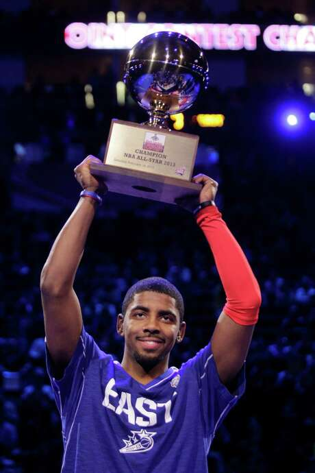 The Cavaliers' Kyrie Irving won the 3-Point Contest and will play in his first All-Star Game today. Photo: Melissa Phillip, Staff / © 2013  Houston Chronicle