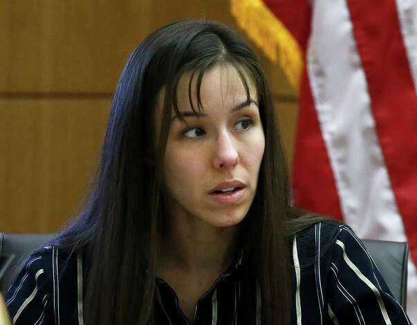 With her glasses off, Jodi Arias answers a question as she sits on the witness stand in Maricopa County Superior Court, Wednesday, in Phoenix. Arias stands trial accused of murdering her lover, Travis Alexander, in the shower of his Mesa home in 2008. After six long days on the witness stand, 32-year-old Jodi Arias has still not discussed the day she allegedly murdered her boyfriend, The Daily Beast points out. Photo: AP
