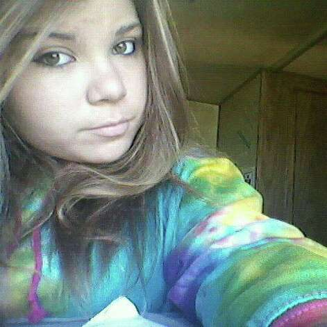 Photo of Nicole Hubbard from Facebook. Hubbard, 19, of West Sand Lake, was in the car with her cousin Alicia Hubbard when Alicia was killed Feb. 16. 2013. Another cousin, Marian Hubbard, has been charged with DWI in the crash on Route 20 in Nassau.