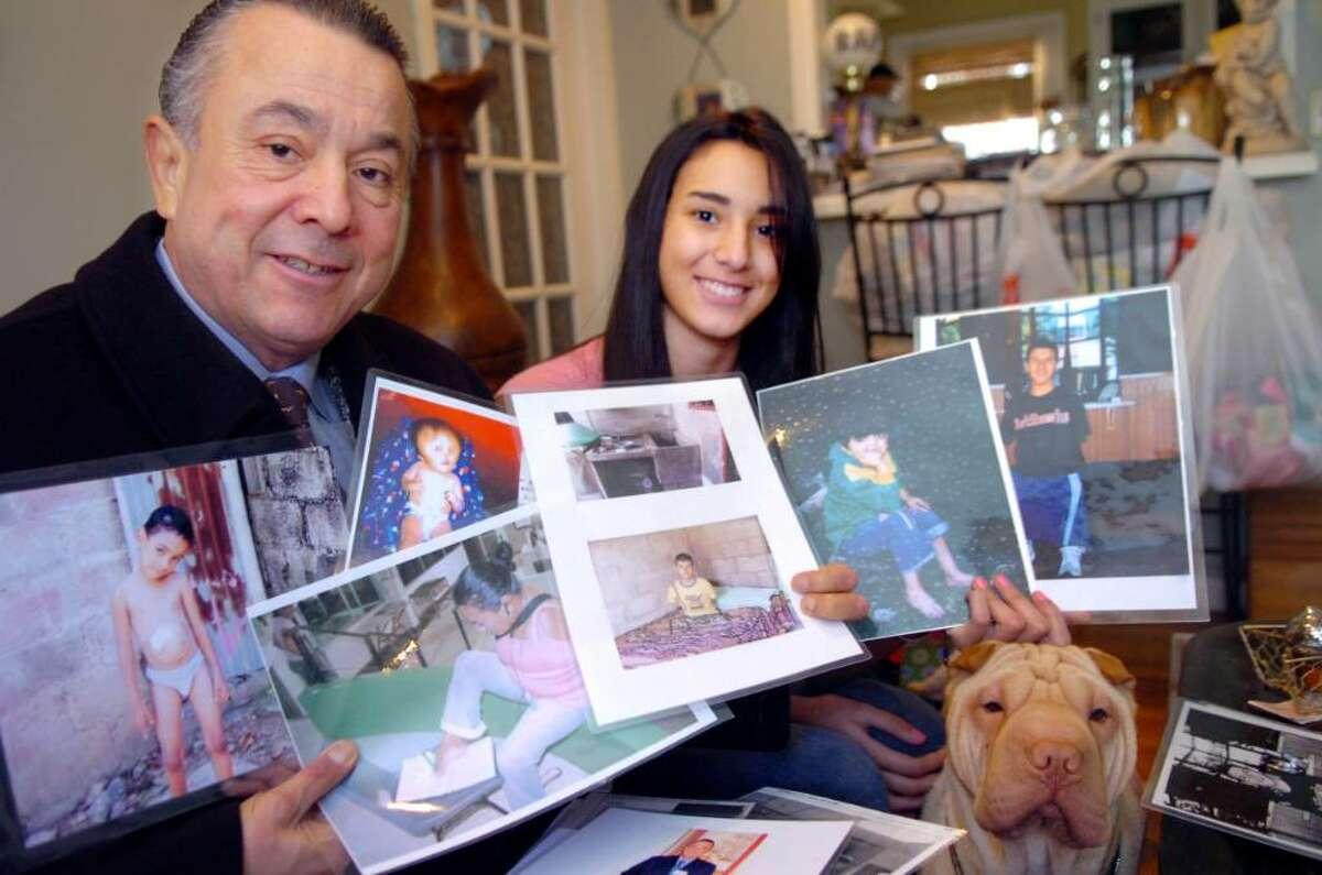 Old Greenwich, Dec. 29, 2009. Rodolfo Rodriguez, executive director of