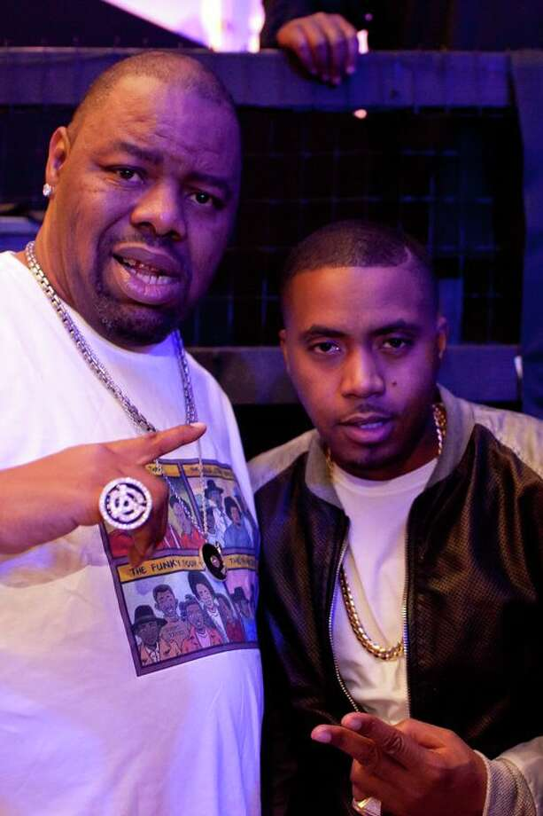 Biz Markie and Nas.