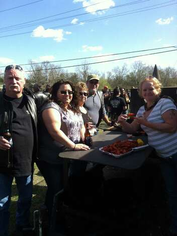 Beaux Jangles' Sunday crawfish boil. Photo: Ioanna Makris