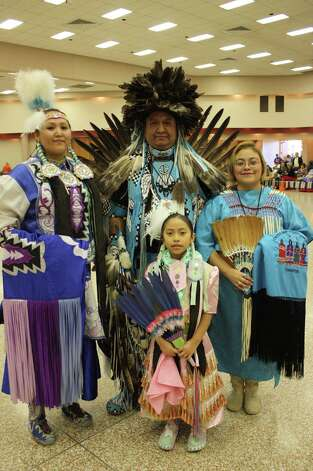 The 16th annual United San Antonio Pow Wow was held at San Antonio Shrine Auditorium on Sunday, Feb. 17, 2013. Photo: Libby Castillo/For MySA.com