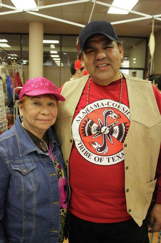 The 16th annual United San Antonio Pow Wow was held at San Antonio Shrine Auditorium on Sunday, Feb. 17, 2013. Photo: Libby Castillo/For MySA.com