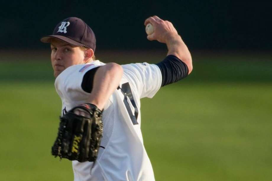 Rice's Austin Kubitza, shown here in a file photo, allowed just two hits in seven innings of work Saturday.