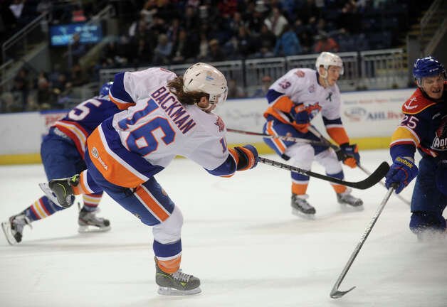 Bridgeport Sound Tigers v. Norfolk Admirals AHL hockey at the Webster Bank Arena in Bridgeport on Sunday, February 17, 2013. Photo: Brian A. Pounds / Connecticut Post