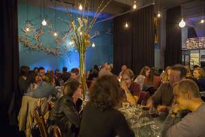 Vinyl coffee and wine bar in San Francisco hosts Tuesday night trivia.