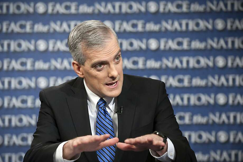 "Chief of staff Denis McDonough,  appearing on CBS' ""Face the Nation,"" says the White House will send its immigration plan to Congress only if lawmakers stumble in their efforts to draft an overhaul. Photo: Chris Usher, Associated Press"