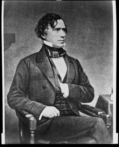 Franklin Pierce Photo: Library Of Congress, Courtesy To The Chronicle