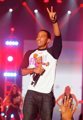 Ludacris performs during the Sprint NBA All-Star Pregame Concert. Photo: Cody Duty / © 2013  Houston Chronicle