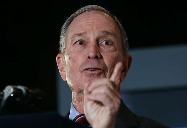 New York Mayor Michael Bloomberg Photo: Mario Tama, Getty Images