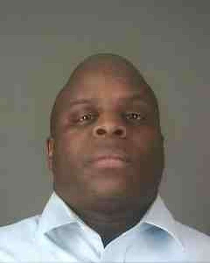 Mugshot of Albany police officer Max Etienne who was charged with DWI Feb. 17, 2013.