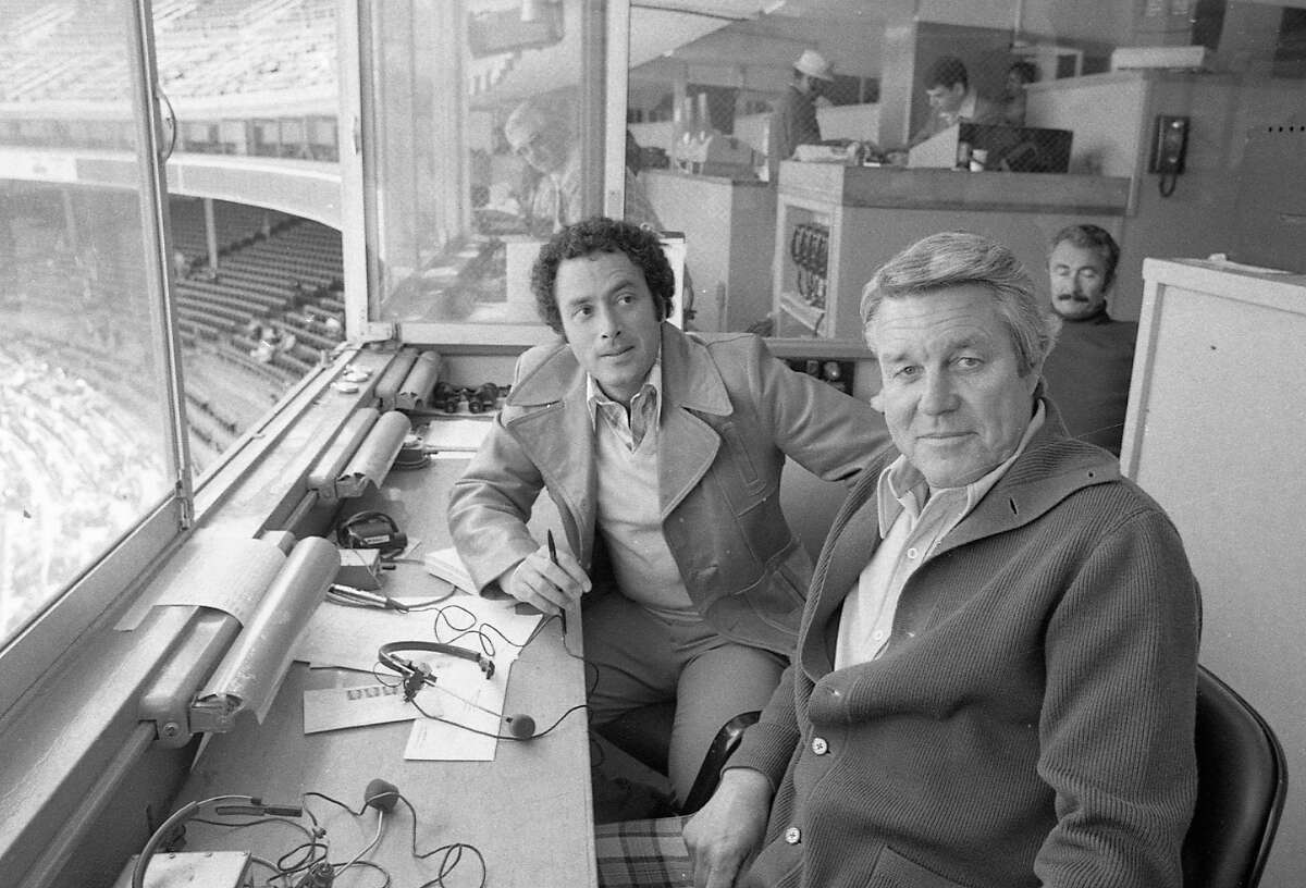 On Opening Day at Pacific Bell Park, radio broadcasters Ted Robinson and Duane Kuiper stepped aside to let Lon Simmons call the first inning. The accomplishment meant Simmons had called the opening game at all three of the Giants' SF stadiums: Seals Stadium (1958), Candlestick (1960) and AT&T.