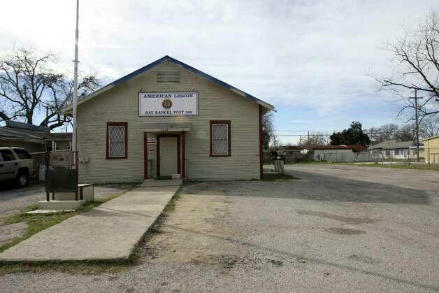 The American Legion Hall on West Southcross is one of the landmarks in the old Quintana community.