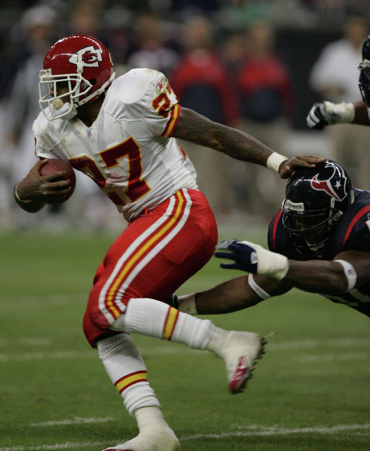 2003 - RB Larry JohnsonDrafted by: Kansas City ChiefsCollege: Penn State Photo: KAREN WARREN / Houston Chronicle