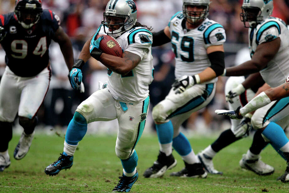 2006 - RB DeAngelo WilliamsDrafted by: Carolina PanthersCollege: Memphis Photo: Brett Coomer / © 2011  Houston Chronicle