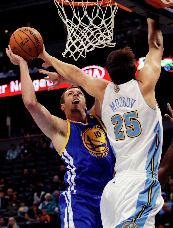 Timofey Mozgov, C, Denver NuggetsThe Nuggets have not pressing need to make a move, but Mozgov will draw attention as a solid center stuck outside the rotation. Denver, on a roll, could stand pat. Photo: Joe Mahoney, Associated Press / FR170458 AP
