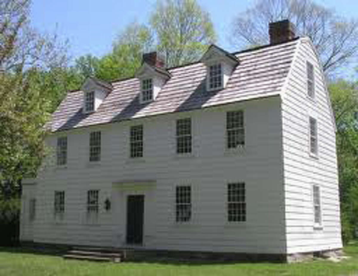 The restored Sun Tavern in Fairfield, where George Washington paid a visit in 1789.
