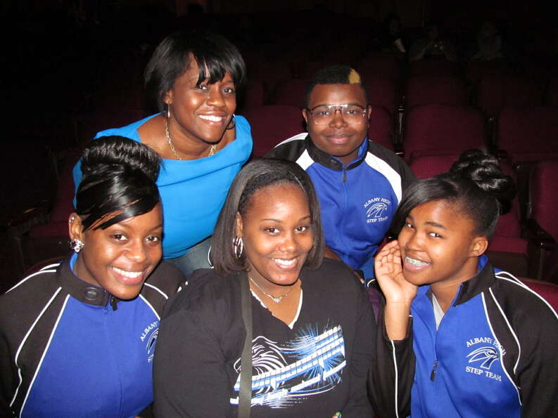 Were you Seen at the Annual Black History Month Step Show at the Palace Theatre in Albany on Sunday,