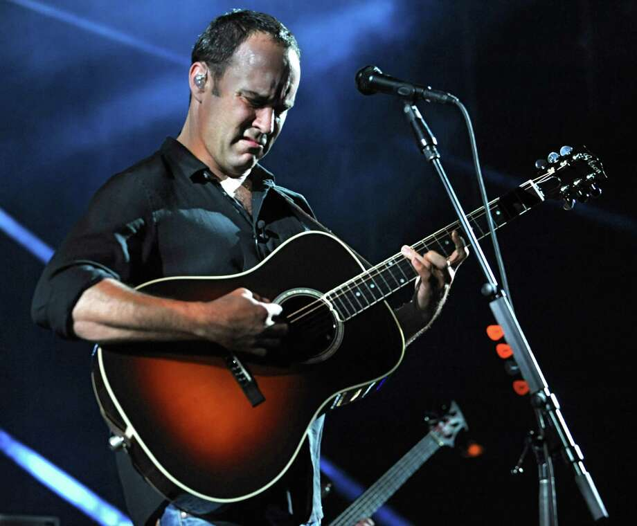 Dave Matthews Band performs during a sold out concert at Saratoga Performing Arts Center June 8, 2012 in Saratoga Springs, N.Y.  (Lori Van Buren / Times Union) Photo: Lori Van Buren, Albany Times Union / 00017954A
