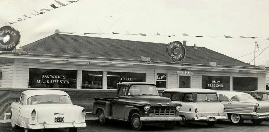 """""""Shipley's Do-nuts on N. Main."""" - Jessica Casas""""This  doesn't really count as a long-lived business, but I sure miss the $1.19  Steakhouse on Long Point in the early 60s. And my first job was the  late shift at Shipley Do-nut in Memorial City around '67."""" - Mary StallingsPictured is the Shipley Donut shop at Jensen and North Loop on Jan. 26, 1959.  Photo: Orie Collins, Houston Chronicle / Houston Chronicle"""