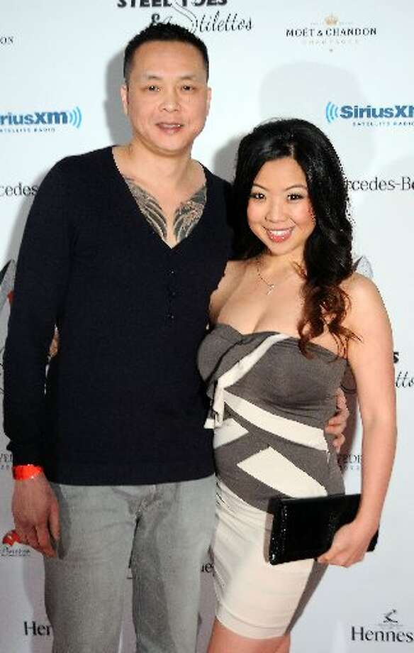 John Vo and Connie Le at the first night of the Steel Toes and Stilettos party at The Phantom on Main St.