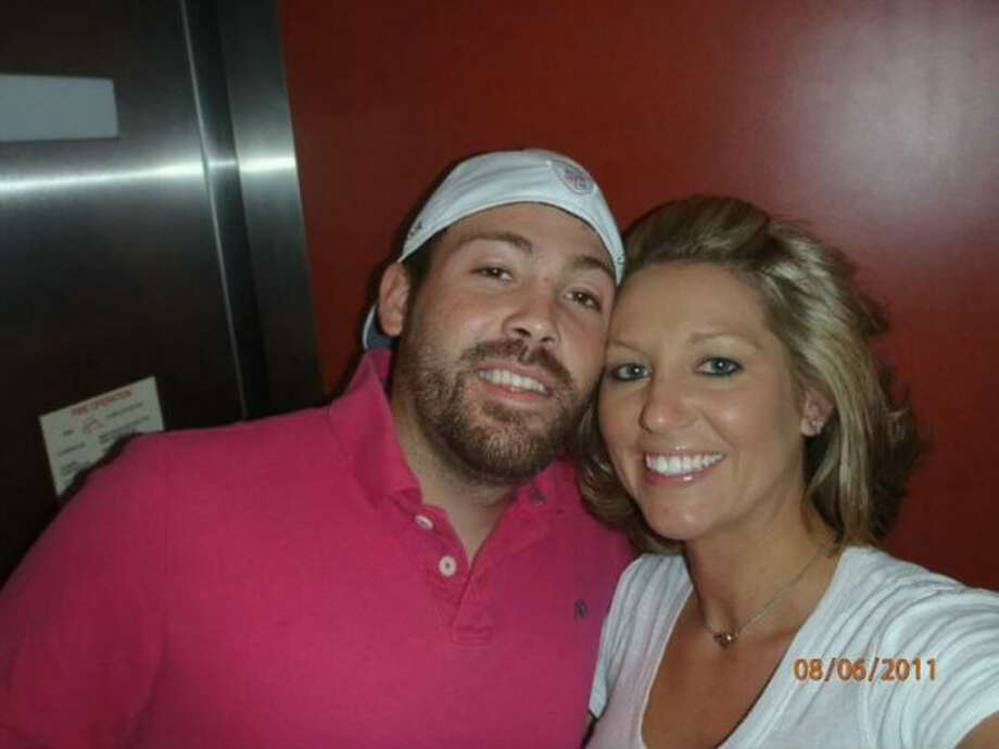 Chandler Chad Bunting with his wife Angela Pointer. Bunting died in an oil field-related accident on Jan. 11, 2012.