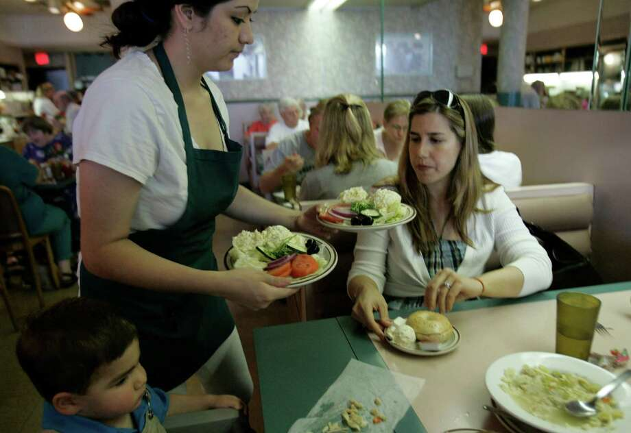 New York Bagel and Coffee Shop in Meyerland.  - Chronicle staff Photo: Nathan Lindstrom, For The Chronicle / Freelance