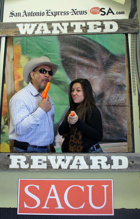 San Antonio Stock Show & Rodeo Sunday, Feb. 17, 2013 Photo: San Antonio Express-News
